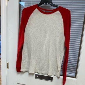 Old Navy Color-Blocked Thermal Knit Shirt